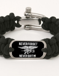 Team Never Quit Survival Strap